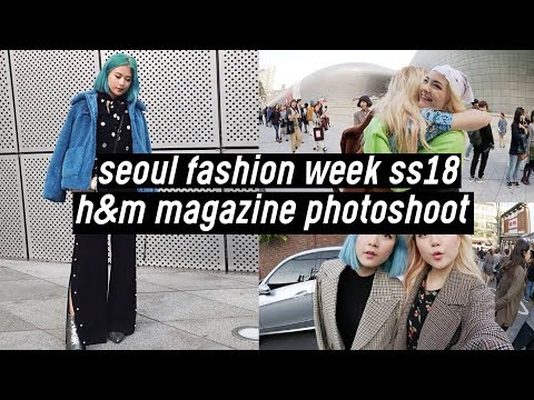 Download Youtube: Seoul Fashion Week 2018: H&M Magazine Photoshoot Behind the Scene   DTV #50