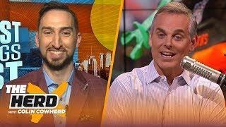 It's over for Patriots, Lakers can't beat Clippers if LeBron plays poorly — Nick Wright | THE HERD