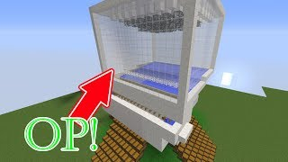 Our new Iron Golem farm! - Skyblock #8