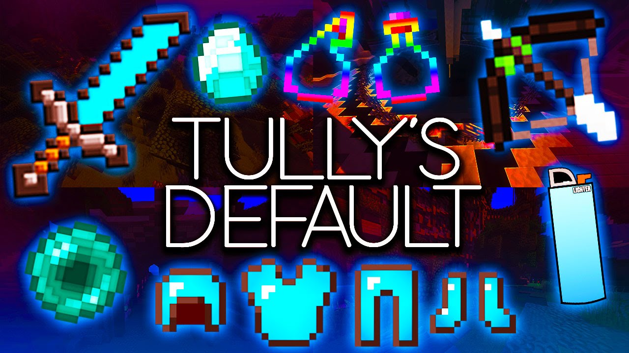 Minecraft PvP Texture Pack - Tully's Default - EPIC LOW ...