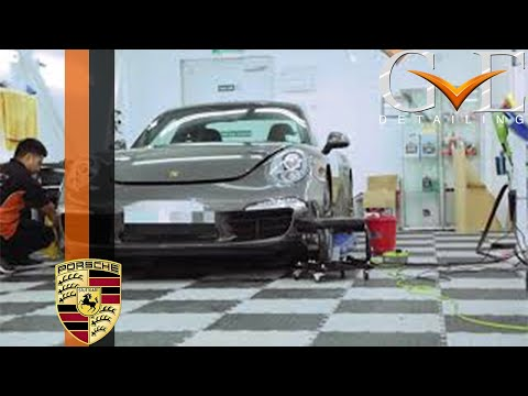 GVE Detailing: Porsche 911 Carrera S - Paint Protection Film