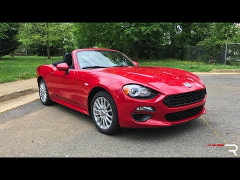 2017 Fiat 124 Spider 1.4T 6AT – Redline: Review