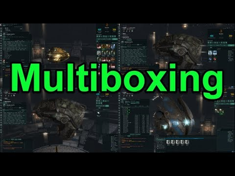 Legit Method for Multiboxing - EVE Online Live Presented in