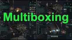 Legit Method for Multiboxing - EVE Online Live Presented in 4k
