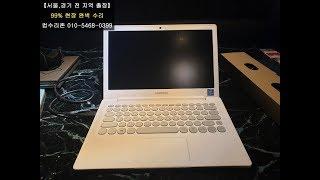 송정동 컴퓨터수리 방금 도착한 프리도스 노트북에 윈도우…