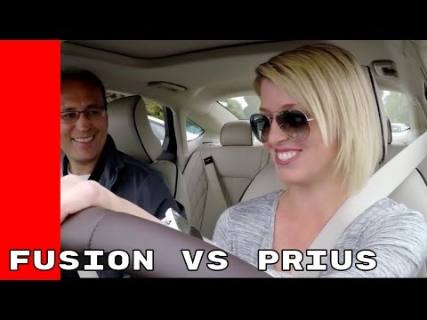 Toyota Prius owners test the Ford Fusion Energi and Fusion Hybrid
