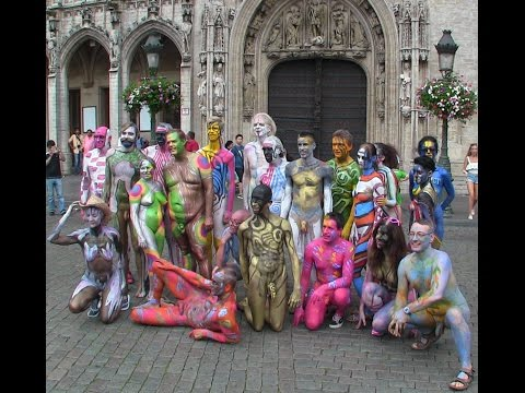 2016 Bodypainting Day Continues @ The Grand Place, Brussels