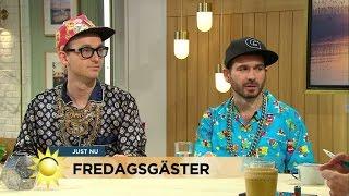 Rapduon Far & Son byggde gayklubb på Putins tomt på Åland - Nyhetsmorgon (TV4)