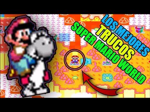 Los Trucos Mas Impresionantes De Super Mario World