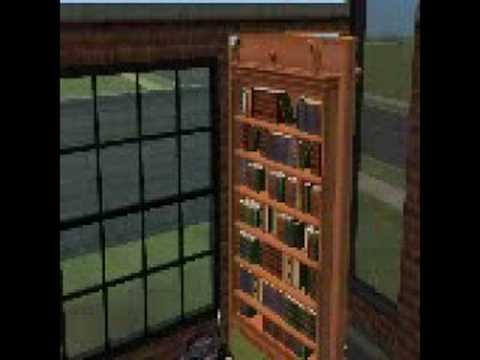 The Sims 2 Apartment Life Bookcase