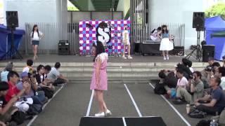 2014年6月29日矢場町公園で行われた イベント『SHAKE!!758』の アイドル...