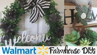 DIY FARMHOUSE DECOR  WALMART R…
