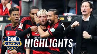 Video Gol Pertandingan Bayer Leverkusen vs Eintracht Frankfurt