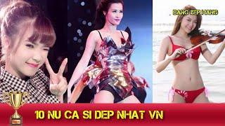 Bảng xếp hạng 10 nữ ca sĩ đẹp và được yêu thích nhất Việt Nam 2016 | Ai là người được yêu thích nhất