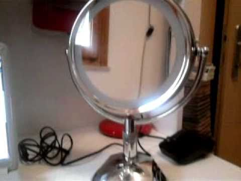 Specchio luminoso babyliss youtube - Specchio babyliss 8438e ...
