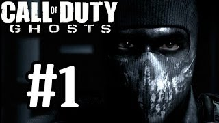 Call Of Duty Ghosts Walkthrough Part 1 Mission 1 & 2 With Commentary 1080P