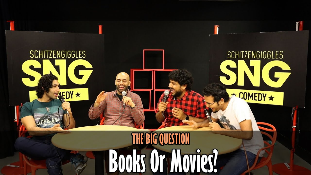 SnG: Books Or Movies? | The Big Question Episode 22 | Video Podcast