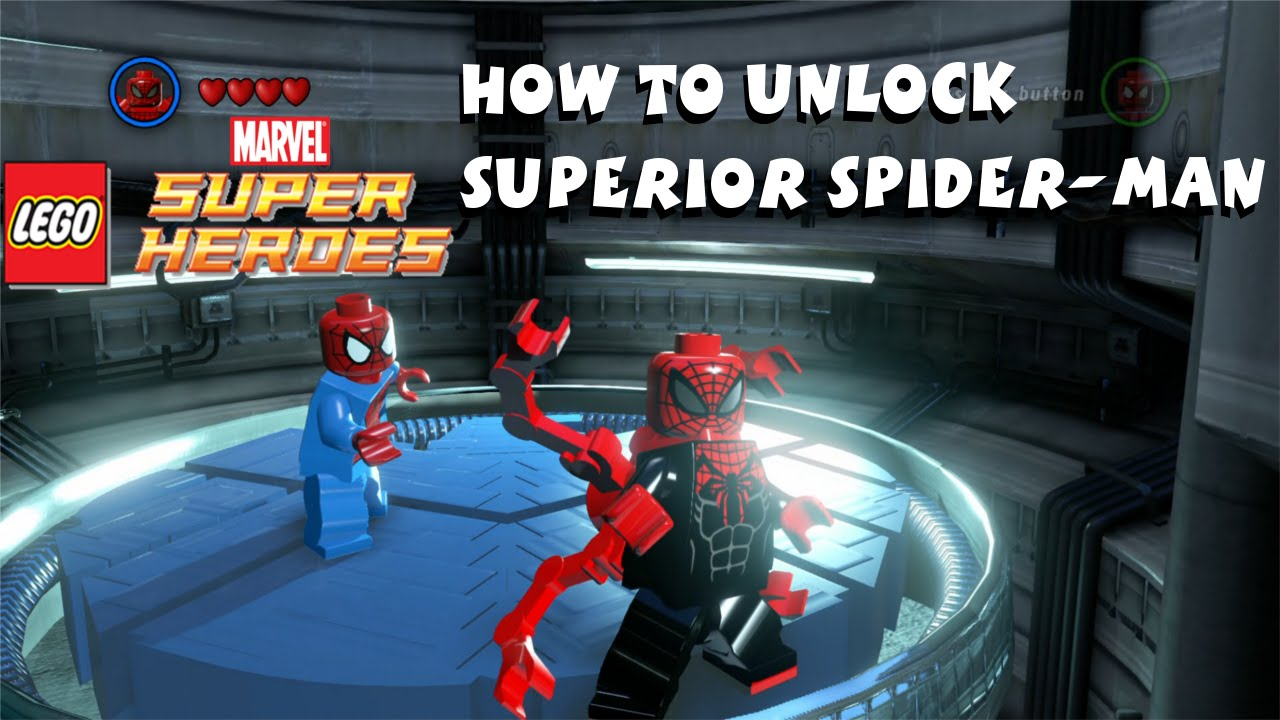 Aninimal Book: How to Unlock Superior Spider-Man - Lego Marvel Super ...