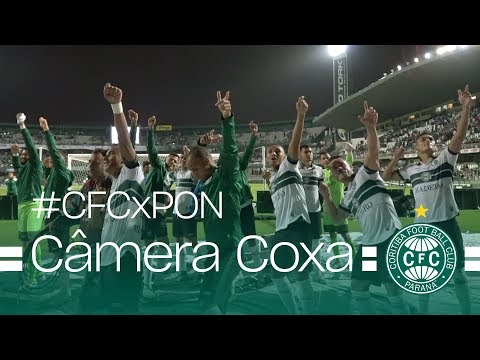 Câmera Coxa - Coritiba 2 x 0 Ponte Preta