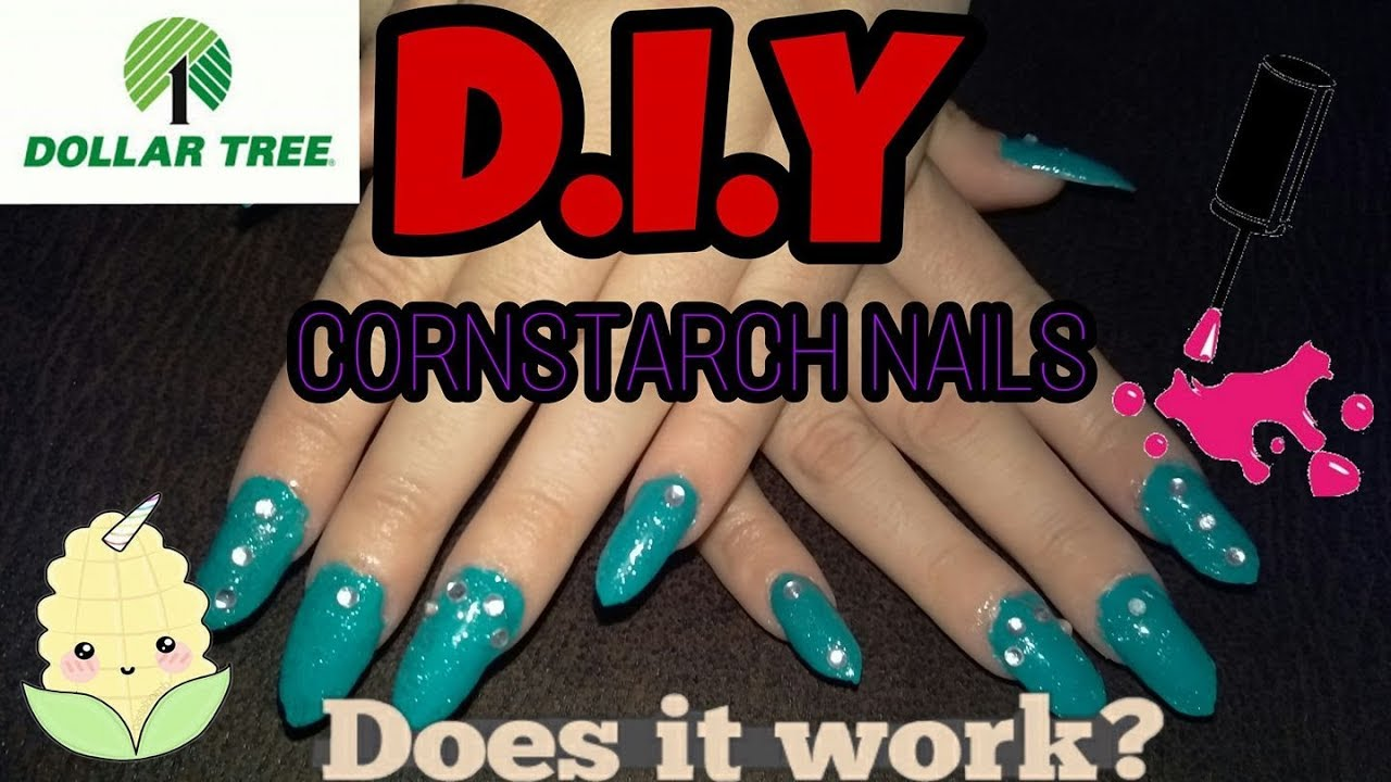 Diy dollar tree acrylic nails under 5 cornstarch dip hack youtube diy dollar tree acrylic nails under 5 cornstarch dip hack solutioingenieria Images