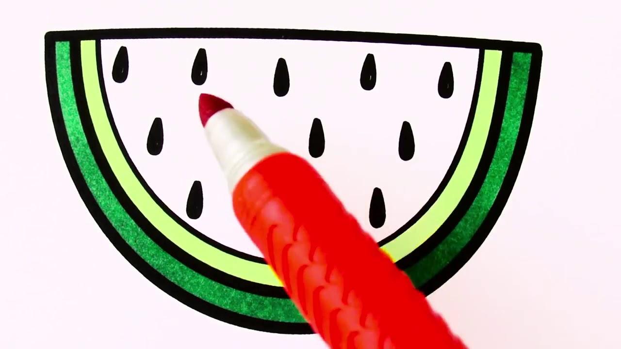 Meyve Sebze Ve Emoji çizimi Ve Boyama Youtube