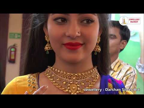 JM jewelry designs with amaze model from Darshan Silver Art (Delhi)