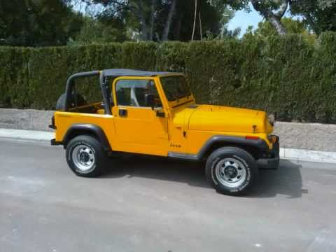 1994 jeep wrangler yj restored youtube. Black Bedroom Furniture Sets. Home Design Ideas