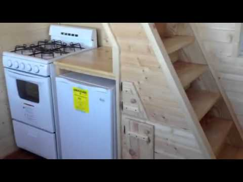 Slabtown Customs new tiny house cabin The Gwenny Kay YouTube