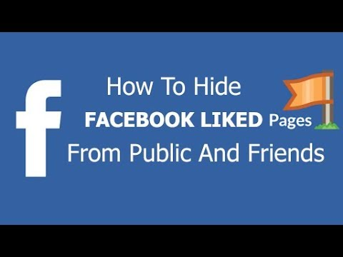 How to hide pages you liked on Facebook  - Hide Facebook liked pages