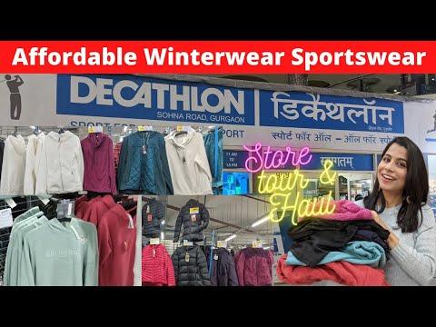 Decathlon Store Tour I Affordable winterwear & sportswear haul / collection