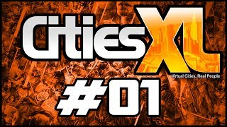 ► Cities XL Platinum #01 - Mapa Gigantesco e Épico!     ♫FaceCam