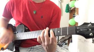 Yellowcard - Lights and Sounds (Guitar Cover)