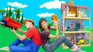 Фото Видео для детей. Кукольный домик для Бьянки. Веселая школа