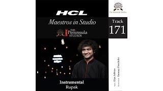 Rupak-Ojas Adhiya (Tabla)-HCL Maestros in Studio Live at The Peninsula Studios