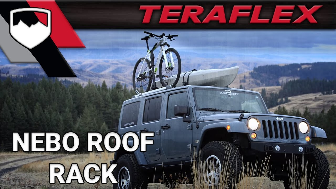 Teraflex Nebo Roof Rack Youtube
