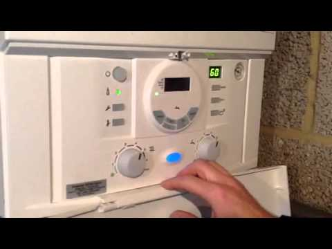 Installation of Worcester Bosch 42CDI combination condensin - YouTube