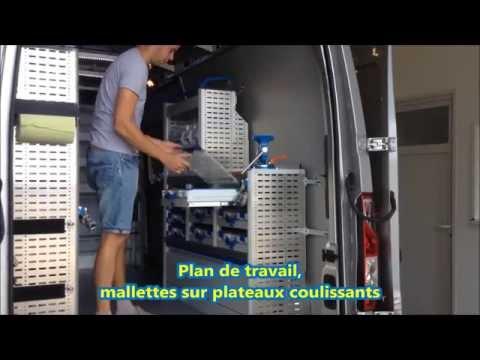 Amenagement Master L3H2 vehicule utilitaire Renault par ESPACE VU Sarl