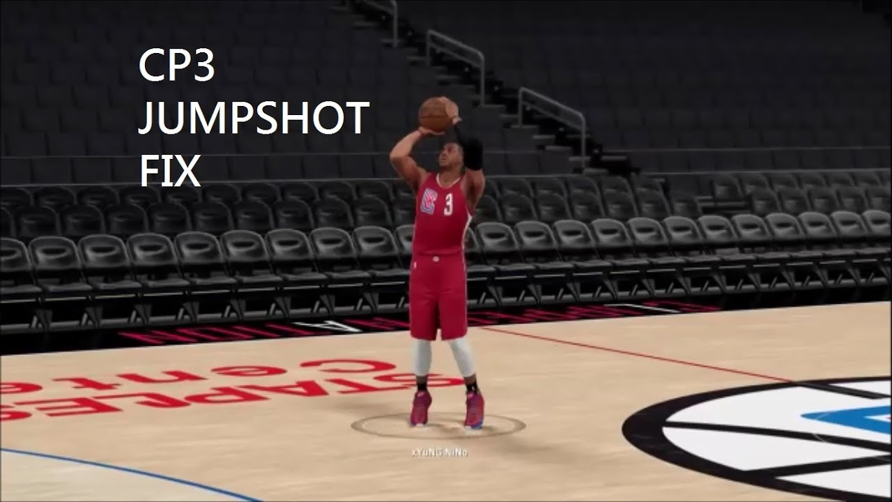 2k16 chris paul jumpshot fix youtube