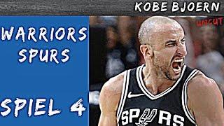 Warriors gegen Spurs Spiel 4 (NBA Playoff Analyse) - KobeBjoern uncut