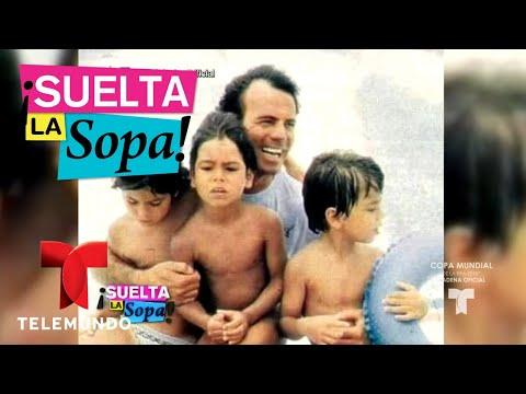 Julio Iglesias no le dejará herencia a un hijo   Suelta La Sopa   Entretenimiento