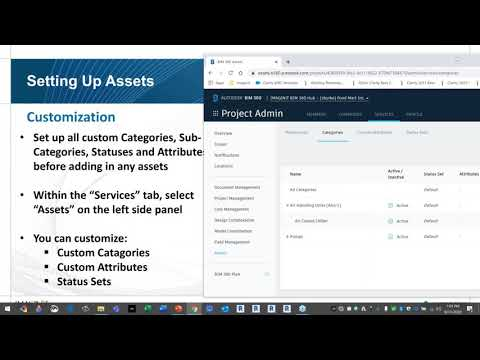 BIM 360 for Construction Asset Module