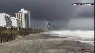 Crazy Wild Video Of Waterspout In Myrtle Beach