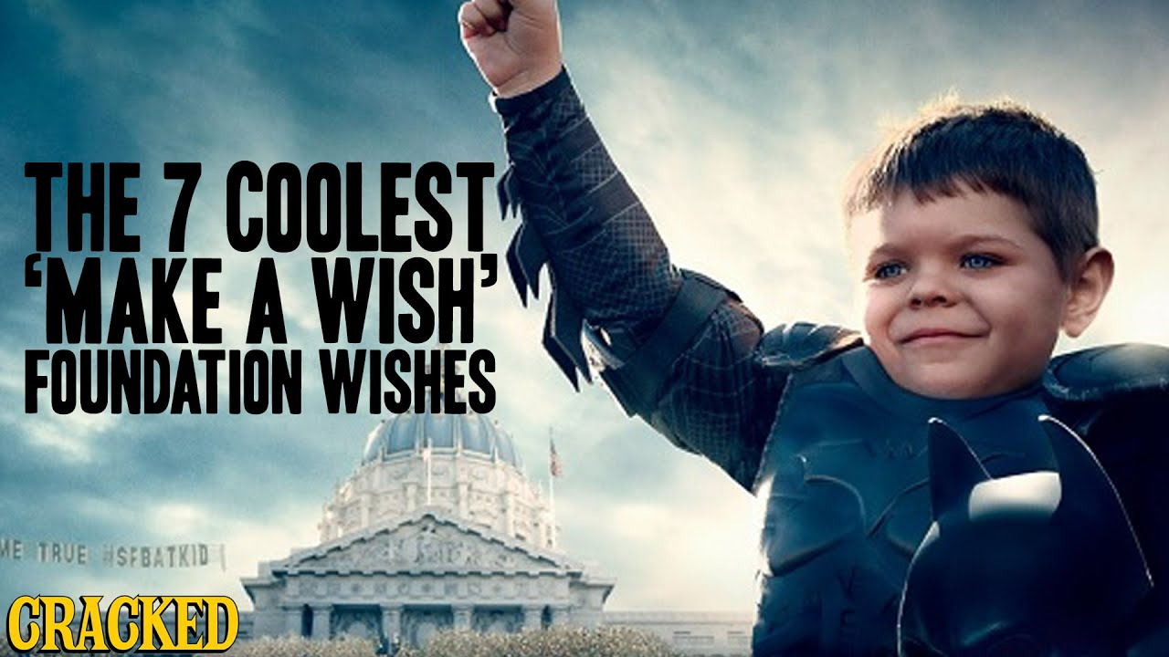 The 7 Coolest  Make A Wish  Foundation Wishes   YouTube The 7 Coolest  Make A Wish  Foundation Wishes