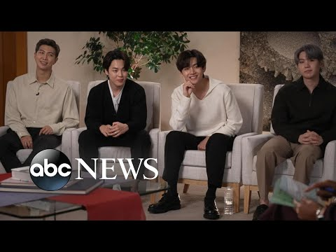 BTS partners with Korean president as special presidential envoys   Nightline