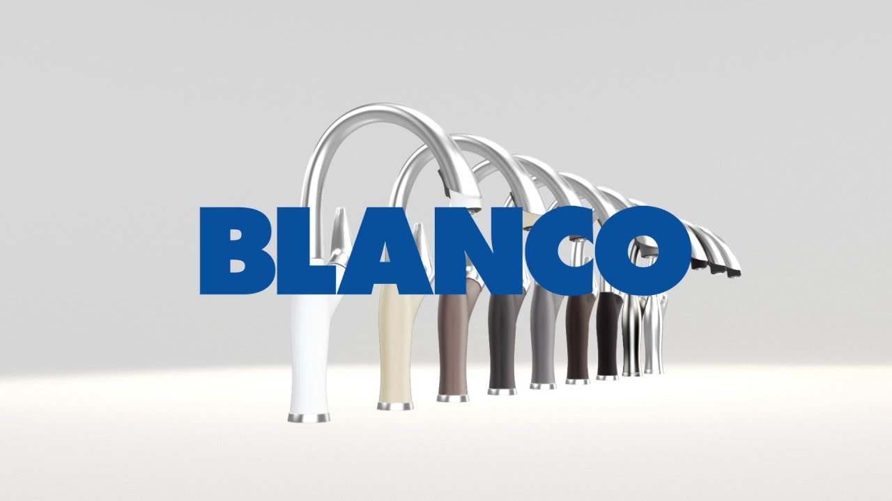 Colourful Pull-down Kitchen Faucet Collection | BLANCO ARTONA™ - YouTube