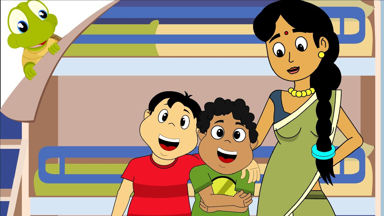 Chunnu Munnu the do bhai - Hindi Nursery Rhyme - YouTube ...