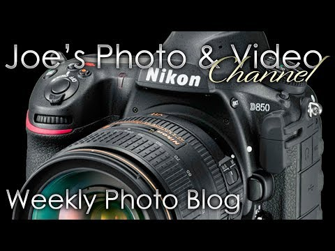 Weekly Photo Blog With Joe - The Nikon D850 Has Been Officially Announced
