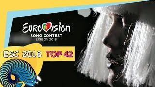 Eurovision 2018 - My Top 42 So Far [New: BULGARIA]