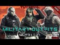*NEW* TOP 3 MILITARY OUTFITS | DOOMSDAY HEIST 1.42 | GTA Online | Tryhard/RNG