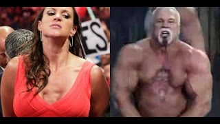 Stephanie Mcmahon and Scott Steiner have same chest mystery disease?